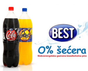 The Best Cola i Oranž