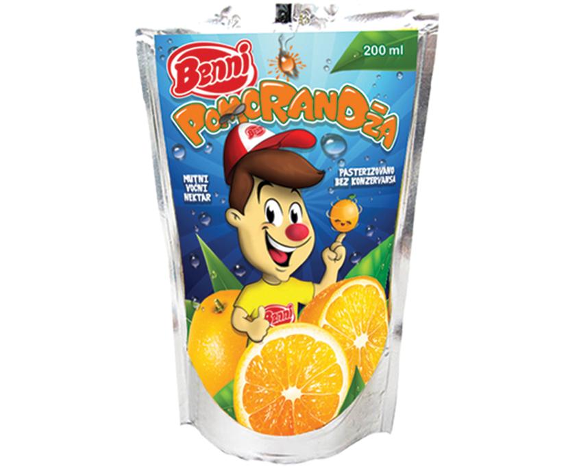 Voćni nektar Pomorandža